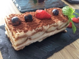 Tiramisu with Coffee & Marsala